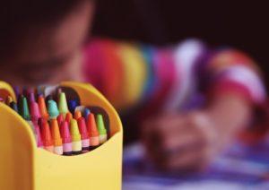 art in school, art education